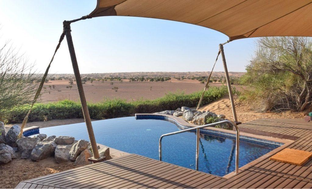 Hôtel Al Maha désert de Dubaï