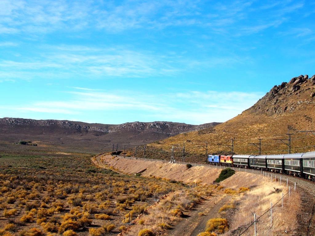 Le train Rovos en Afrique du Sud