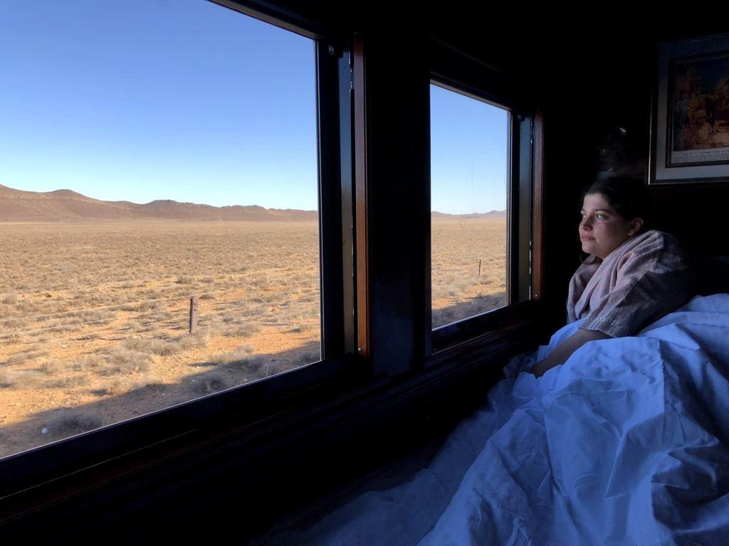 Contempler les paysages d'Afrique du sud