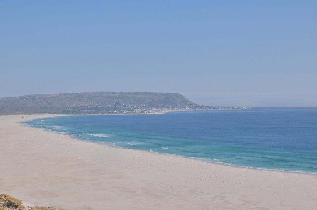 Quand on arrive enfin à Hoot Beach, une plage splendide