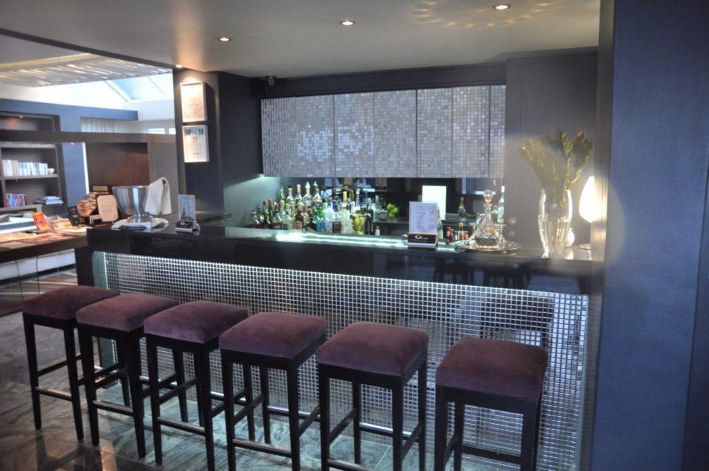Le bar du O On Kloof hôtel