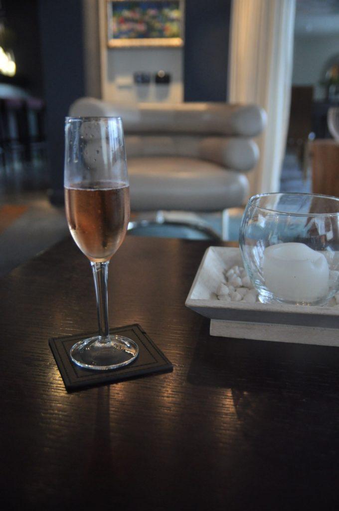 Une petite coupe de champagne pour se détendre