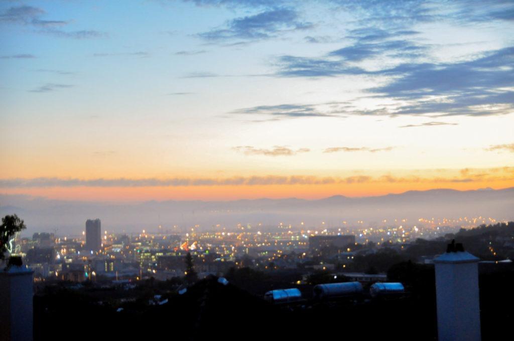 Après cette soirée très sympa, on jete un dernier coup d'oeil sur la vue panoramique qui nous ait offerte.