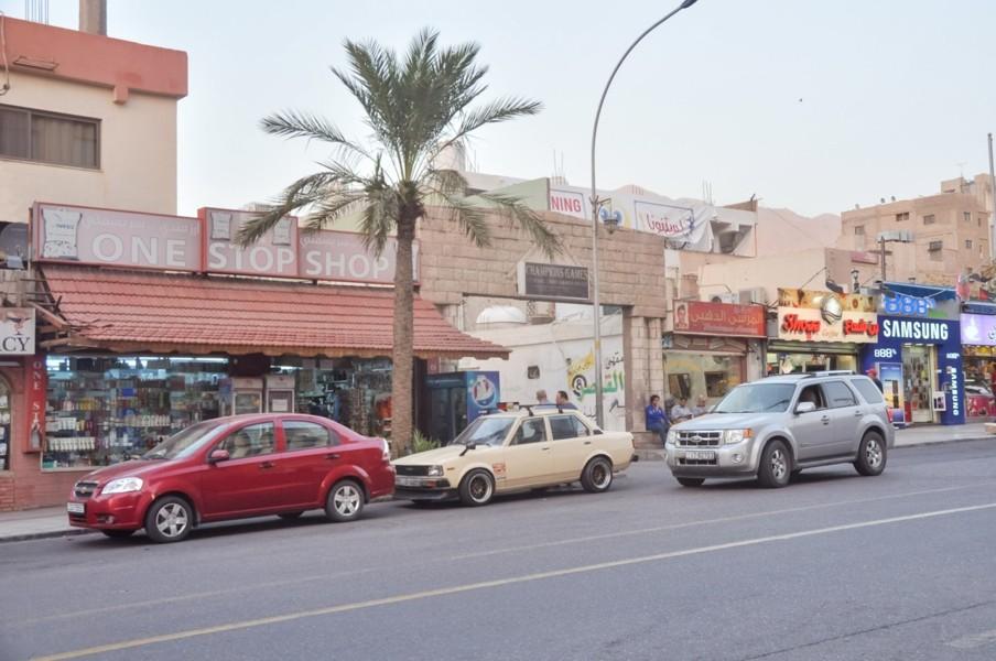 Le centre-ville d'Aqaba