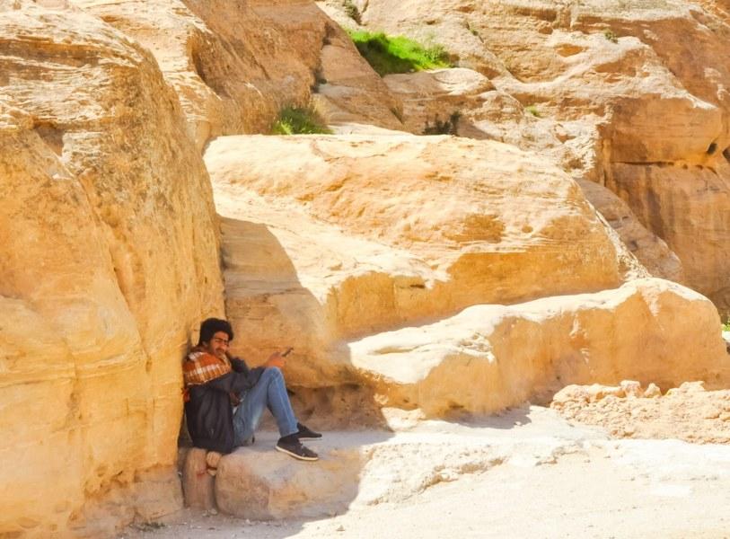 On cherche l'ombre en Jordanie