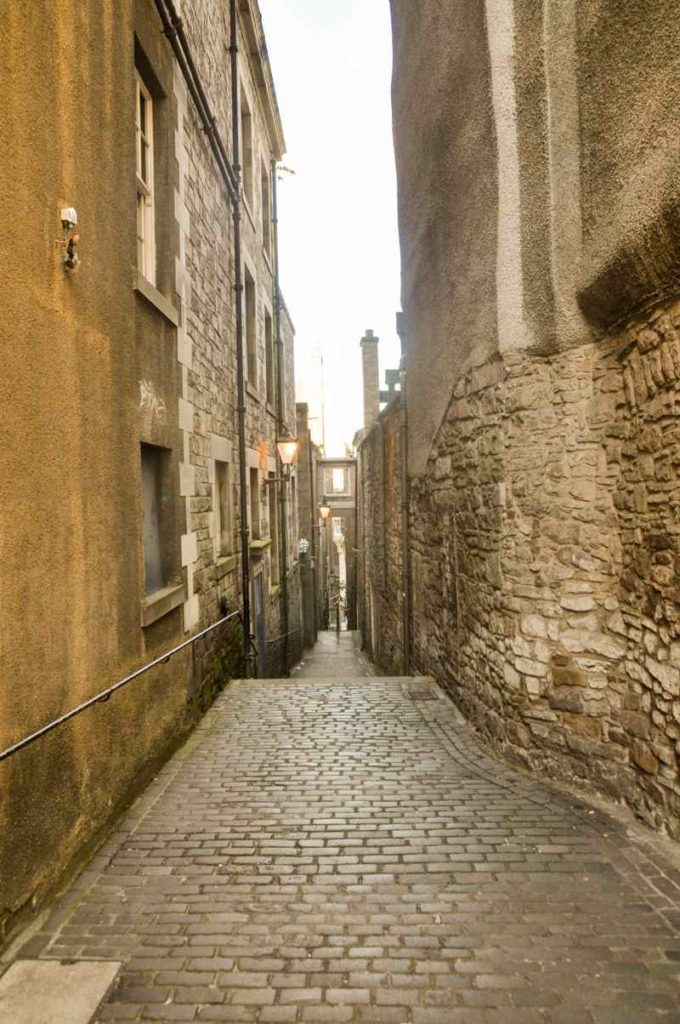 Les ruelles d'Edimbourg