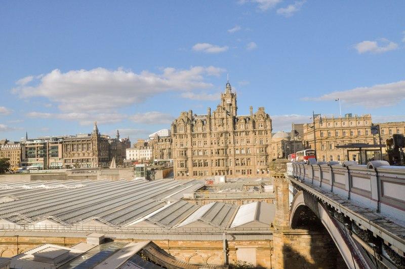 Les vues à Edimbourg