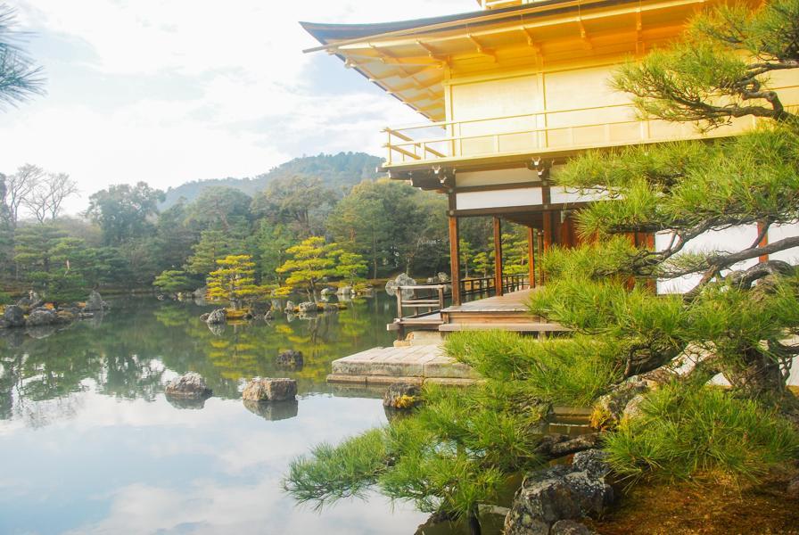 Le temple d'or avec son lac