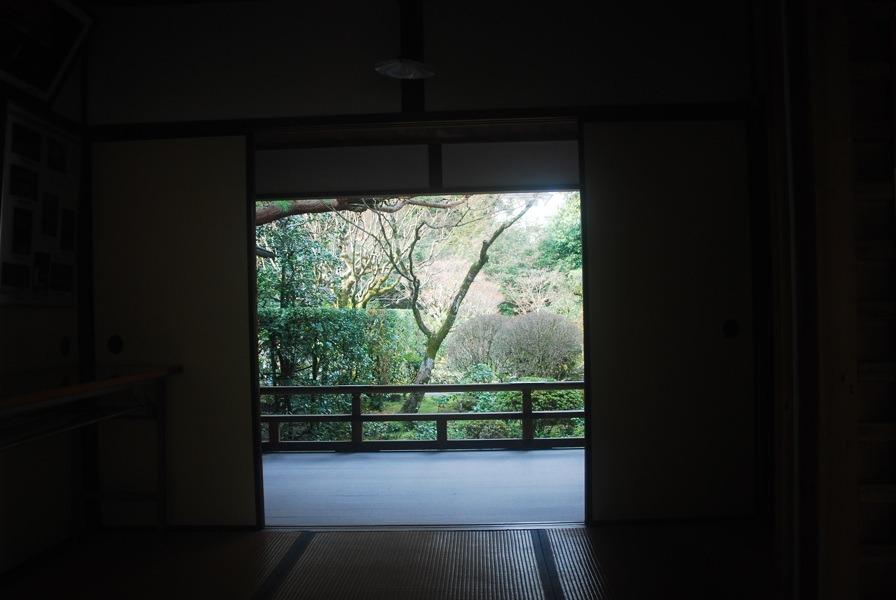 Les ouvertures des maisons sur les jardins