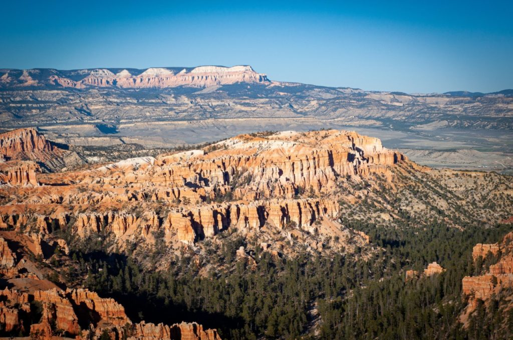 Le panorama somptueux à Bryce Canyon