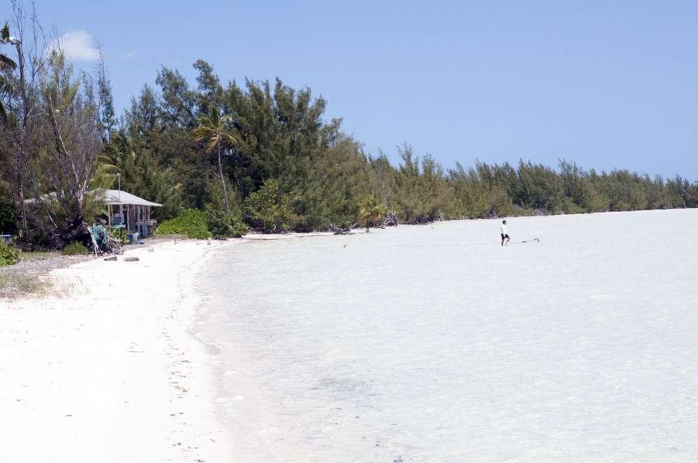 Une plage à Eleuthéra