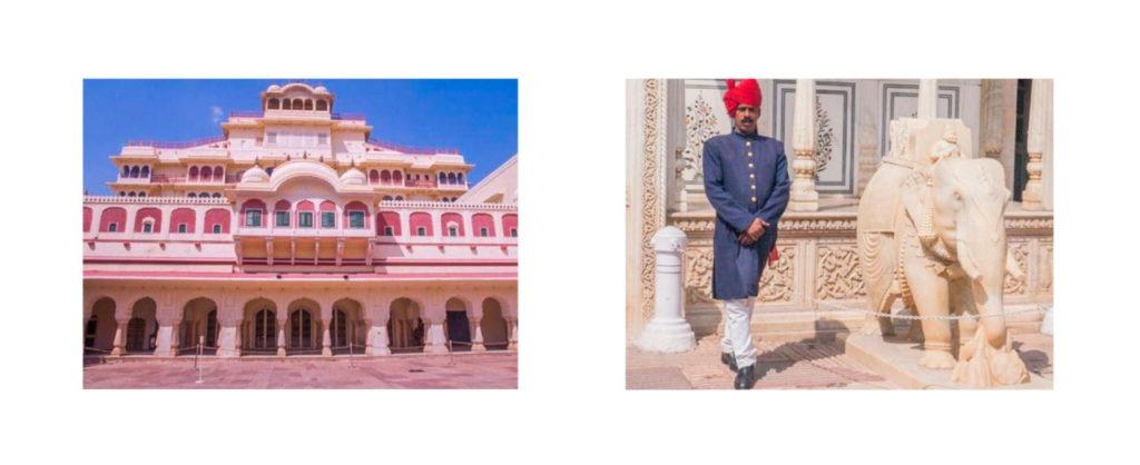 Au temple des vents à Jaipur