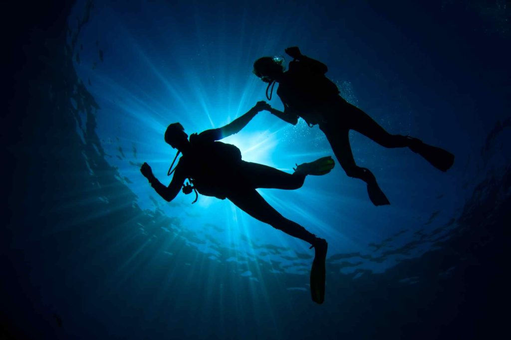 Plongée sous marine aux Maldives