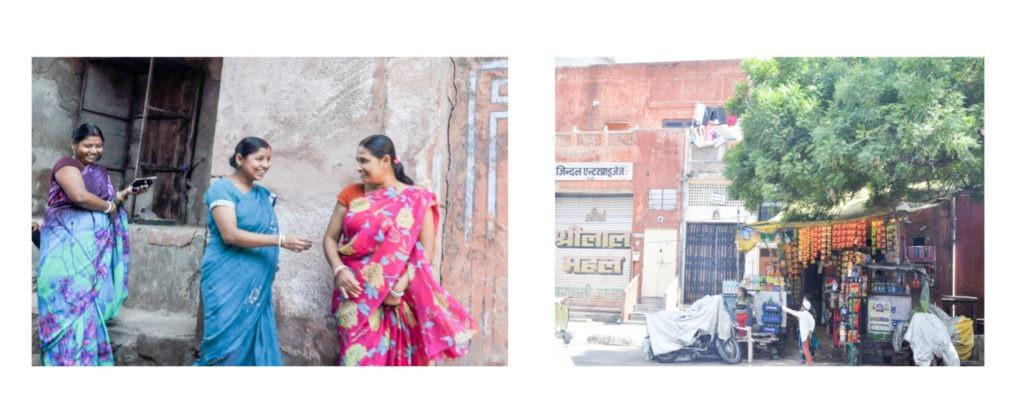 Inde rue Jaipur