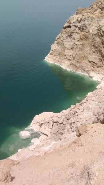 La mer morte en Jordanie
