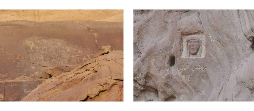 Dans le désert du Wadi-run