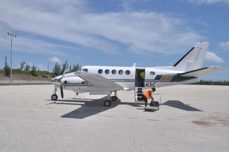 Prendre l'avion aux Bahamas