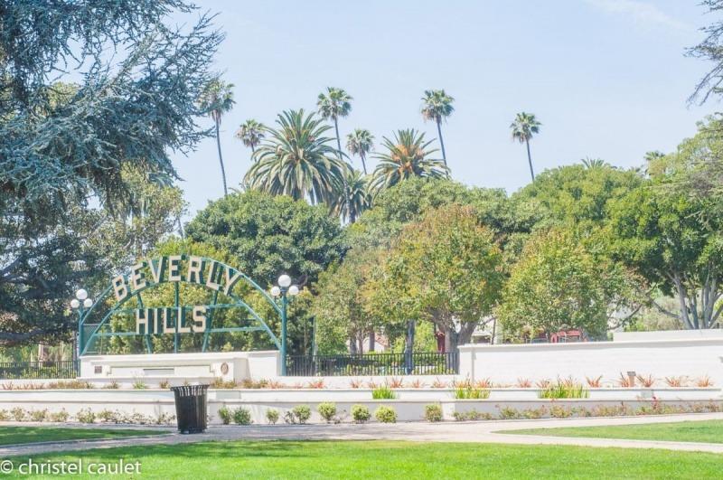 Beverly Hills c'est aussi un magnifique jardin