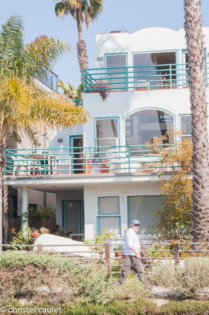 Les villas de luxe à Venice Beach usa