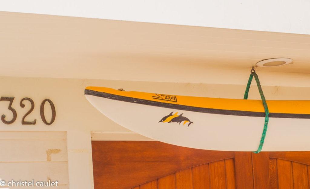 Maison de surfers à Venice Beach usa