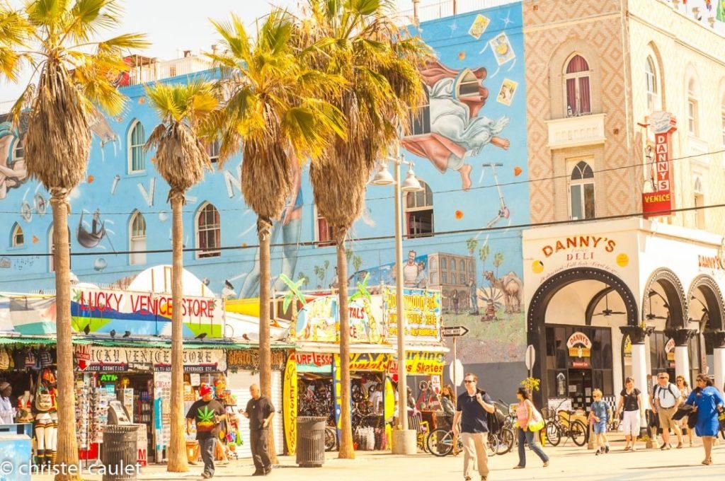 Street-art rue Venice Beach usa