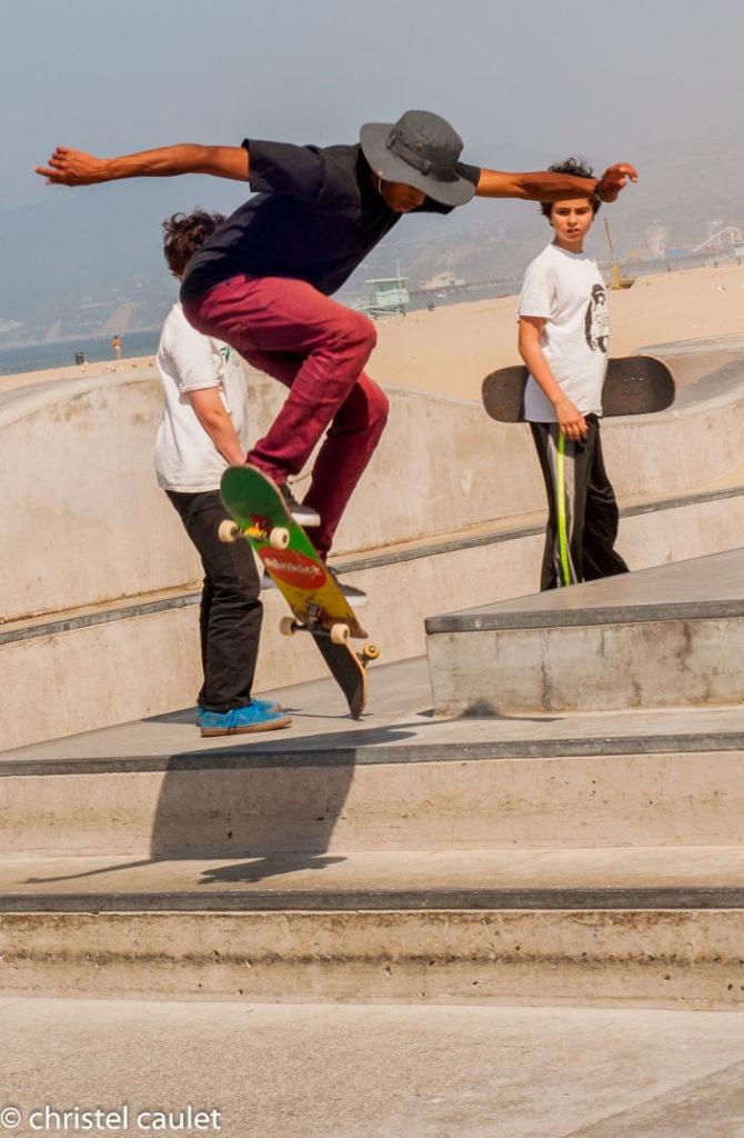Les skateurs de Venice Beach
