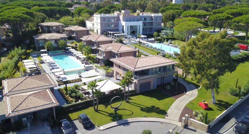 L'hôtel Kube à Saint Tropez