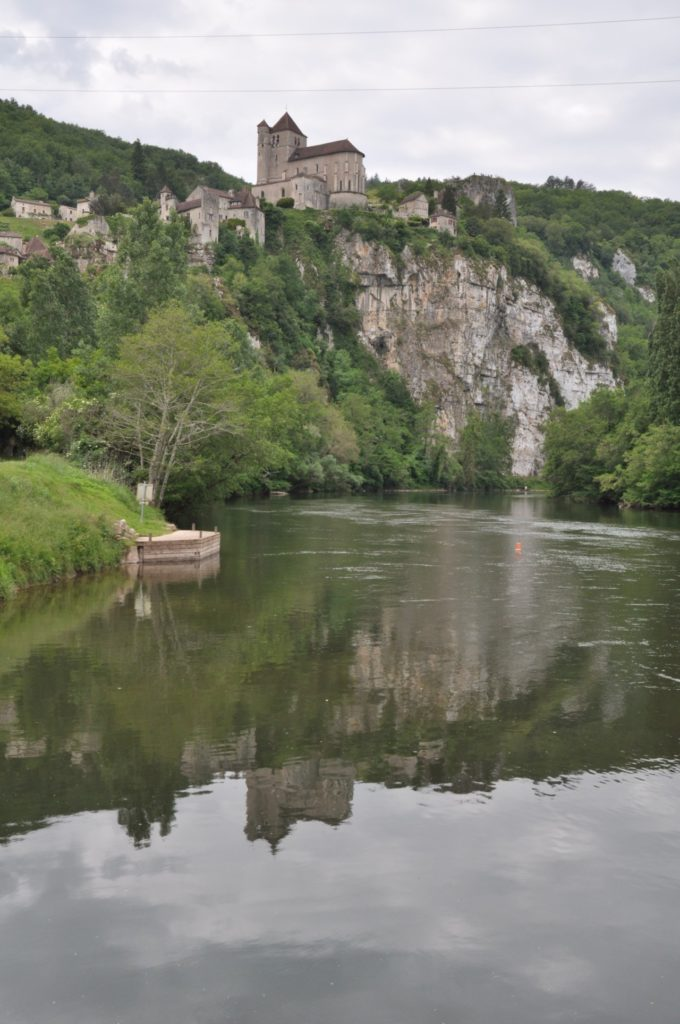 Reflet de Saint-Cirq-Lapopie