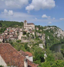 Visite de Saint-Cirq-Lapopie en Occitanie