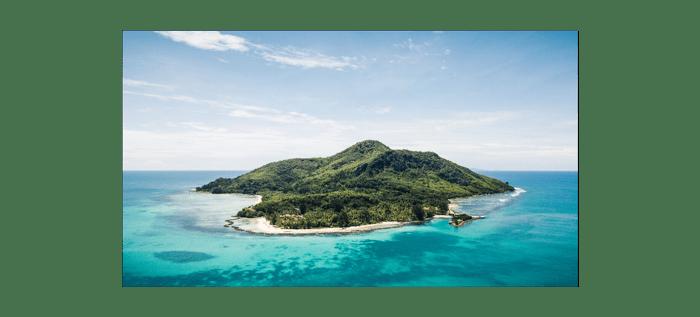 L'île sainte Anne du Club Med aux Seychelles