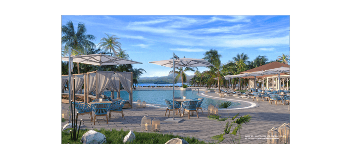 Piscine club med aux seychelles
