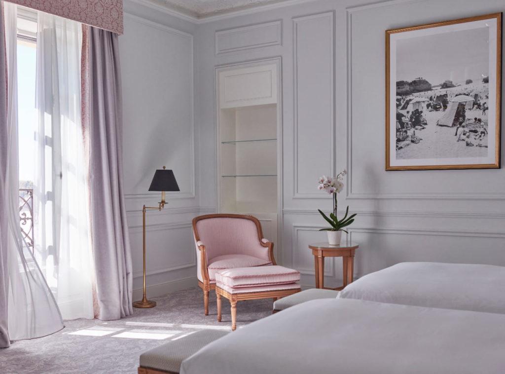 Offres hôtelières à l'Hôtel du Palais à Biarritz