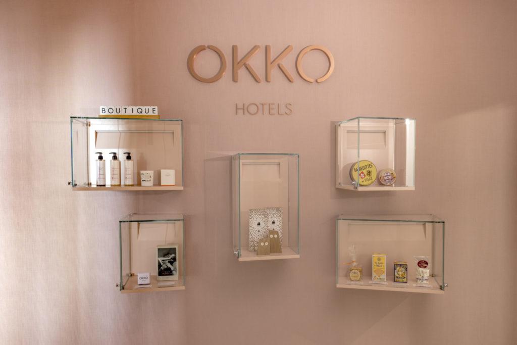 La boutique du Okko Hôtel