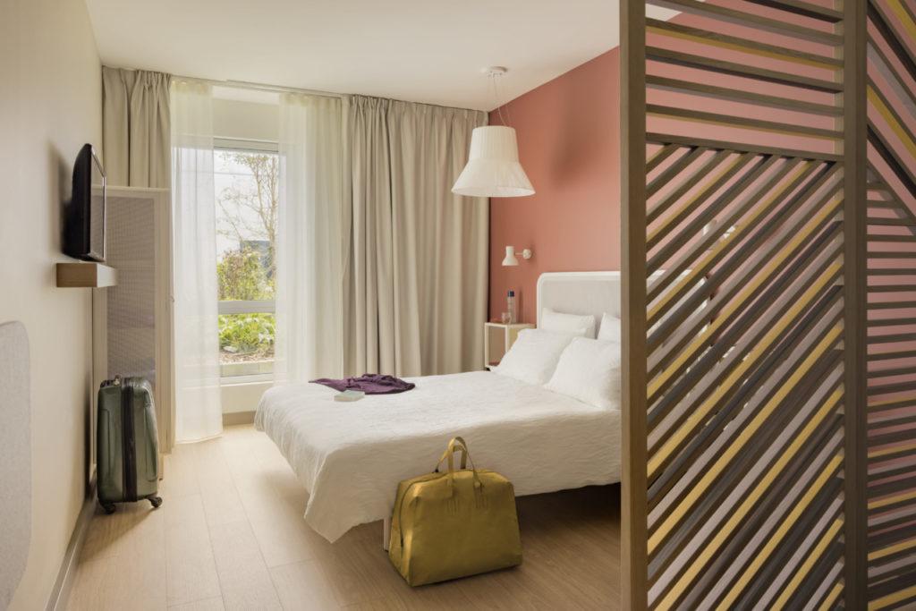 Dans la chambre okko hôtel