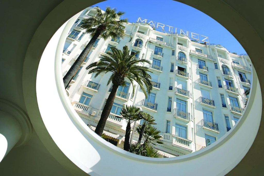 Offres hôtelières pour les vacances : Hôtel Martinez à Cannes
