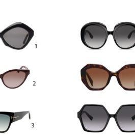 Prendre des lunettes de soleil