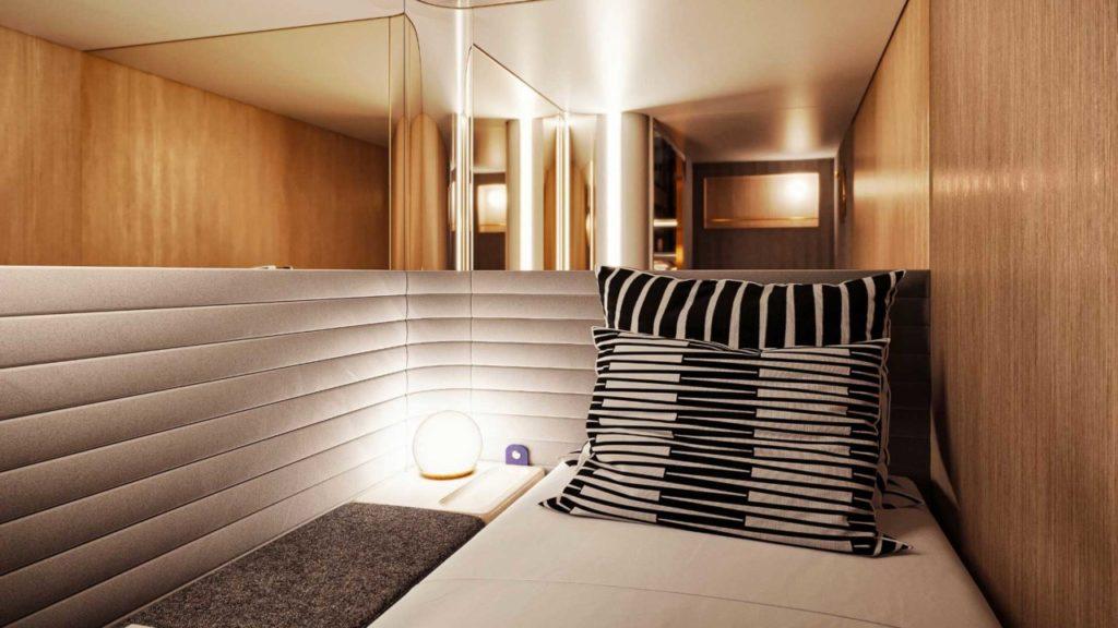 Le lit et aménagement design