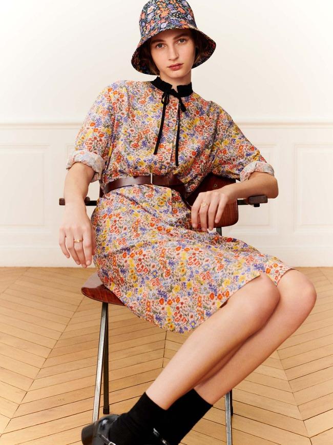 La robe Comptoir des Cotonniers