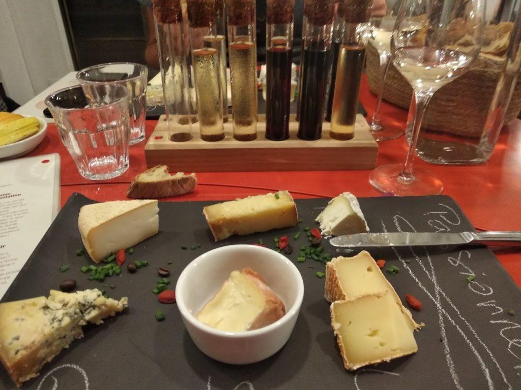 Assiette de fromages Passionnel