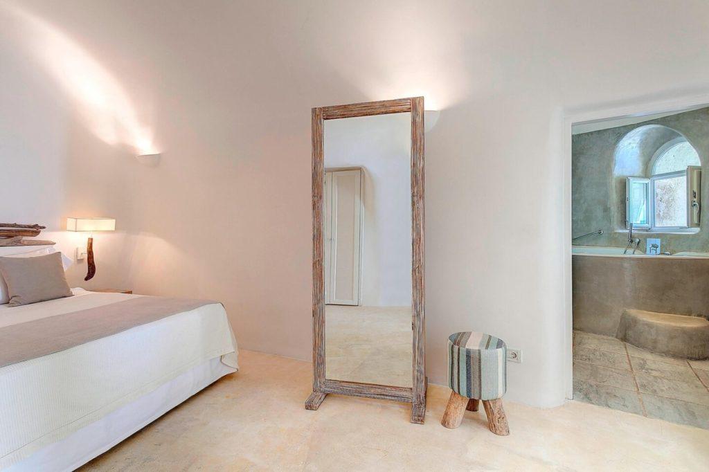 chambre mystique hôtel santorin