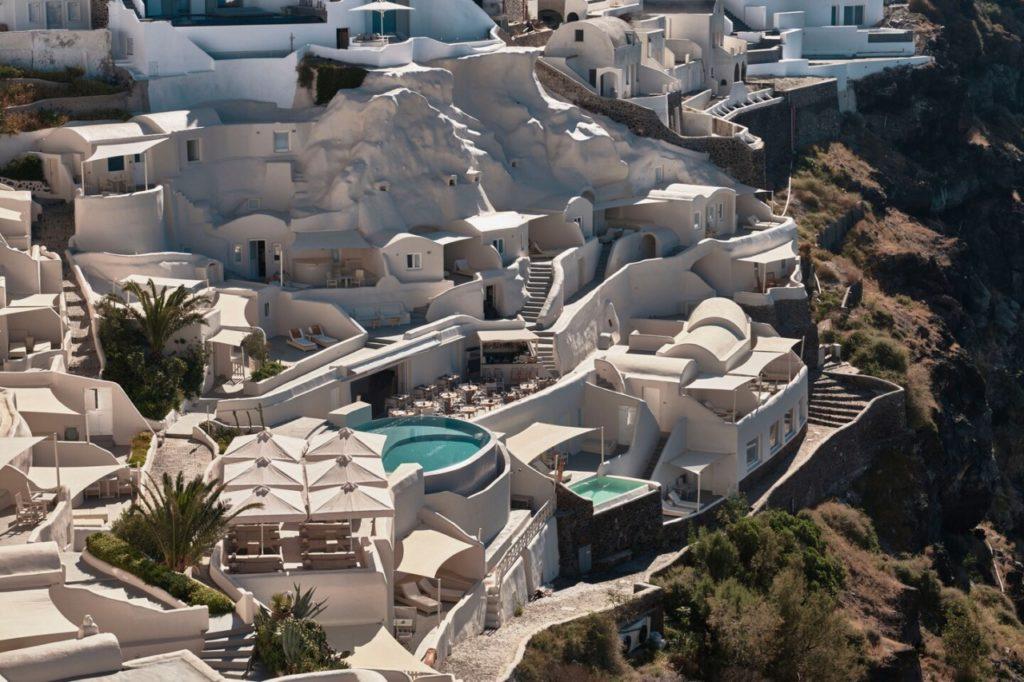 Le Mystique hôtel Santorin