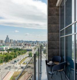 Vue panoramique du Hyatt Place Ekaterinburg