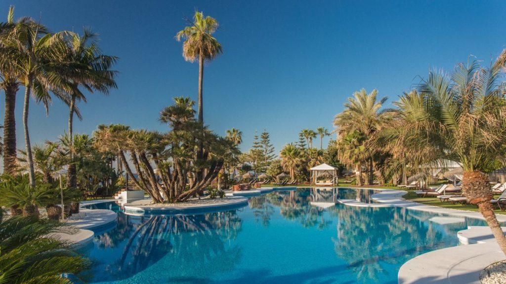 Les piscines du Kempinski hôtel Bahia