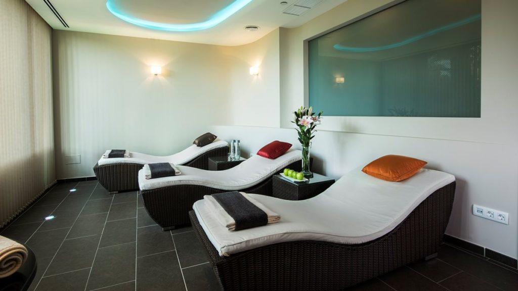 L'espace relaxation du resort spa