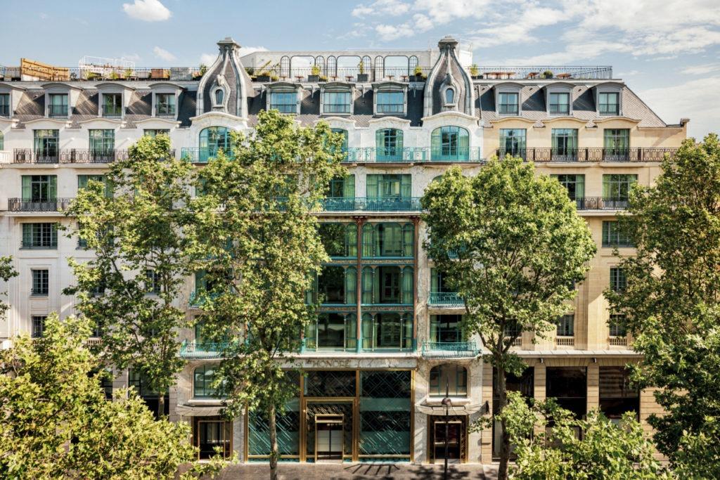 La façade du Kimpton Hôtel Saint Honoré