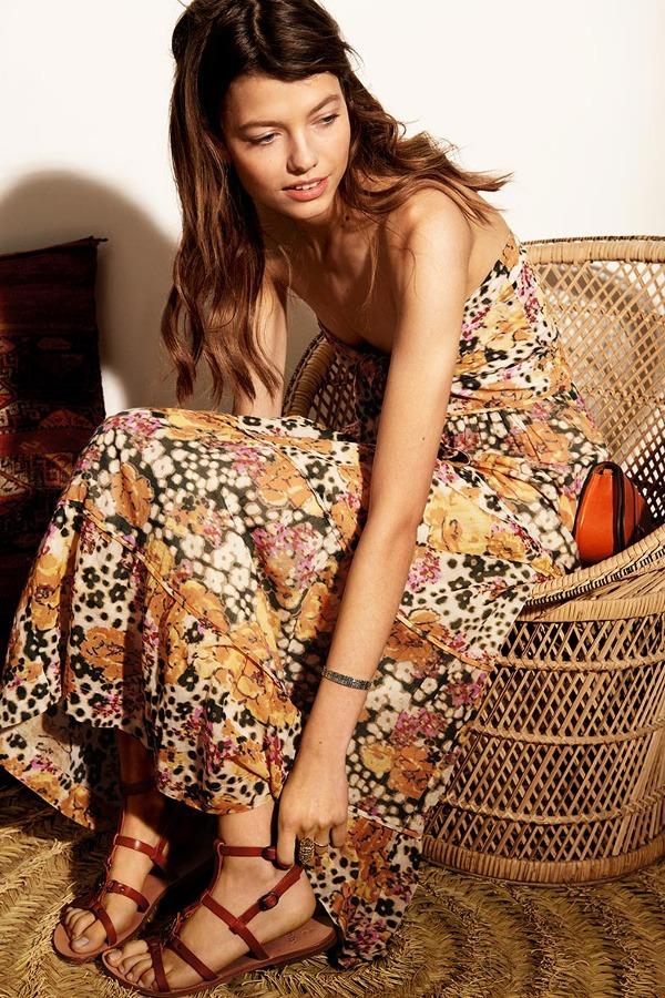 robe fleurie bash