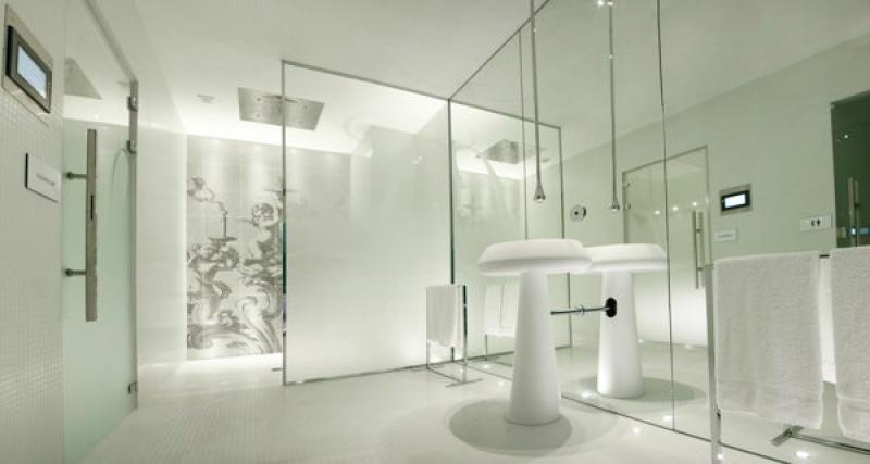 Accès au sauna - douche sensorielle - Lanterne à Paris