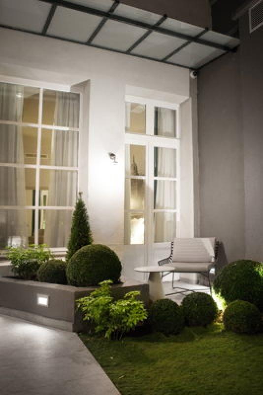 Le jardin - La Lanterne à Paris