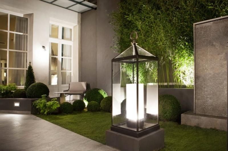 Le jardin de la Lanterne - Paris