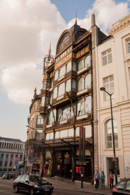 Dans le centre-ville de Bruxelles